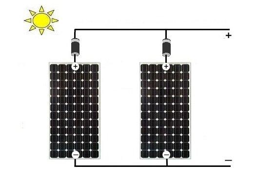 Circuito Paralelo Y En Serie : Como conectar los paneles solares fotovoltaicos en paralelo